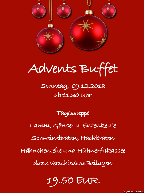 Advents Buffet